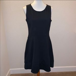 Cynthia Rowley Fit and Flare Black Large Dress